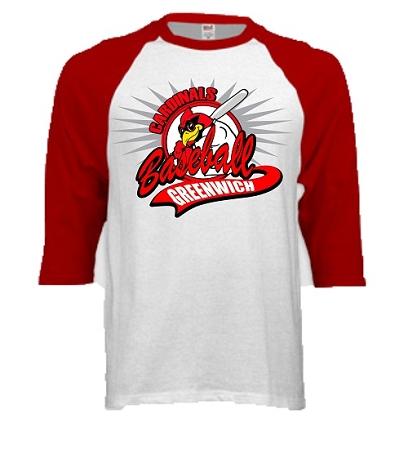 Varsity imprints greenwich high school baseball cardinal for High school shirts designs