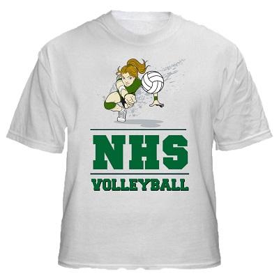 High school volleyball shirt designs for High school shirts designs