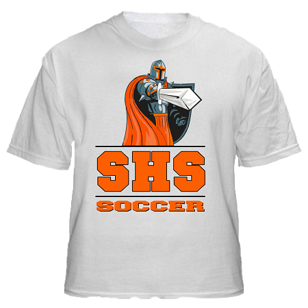 Varsity imprints shs black knights with sword all for High school basketball t shirts
