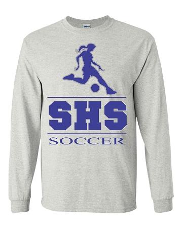 Varsity imprints staples hs girls all sports silhouette for Staples custom t shirts