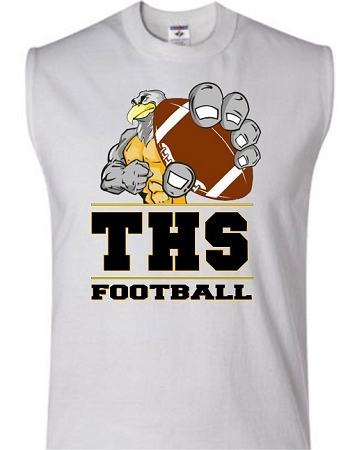 Varsity imprints trumbull hs eagle all sports shirt for High school football shirts