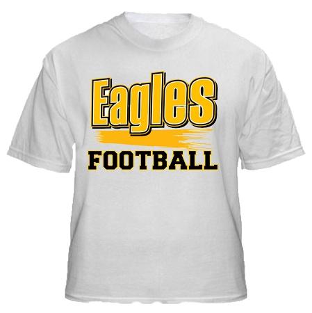 Varsity imprints trumbull high school golden eagles for Eagles football t shirts