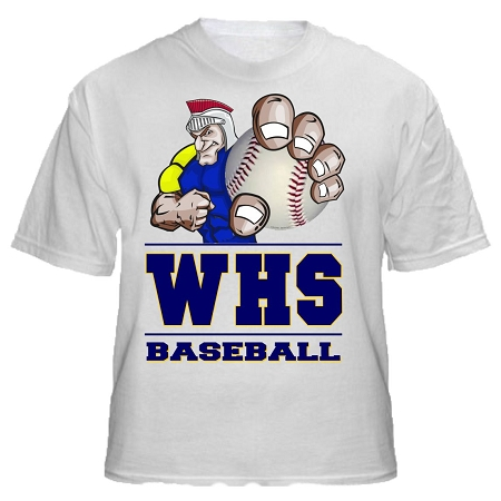 Varsity Imprints Weston Hs Trojan Logo Shirt