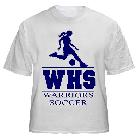 Girl Soccer Shirt Designs Girls Warriors Soccer Design