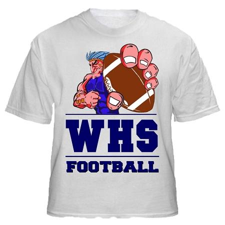 Varsity imprints wilton hs warrior shirt for High school basketball t shirts