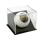 Single Angled Softball Display Case