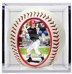 Grandstand Crystal Clear Baseball Display