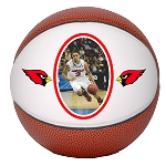 Mini 6-inch Photo Basketball - Single Panel
