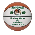 Full Size Senior Gift Regulation Basketball - Double Panel