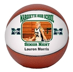 Full Size Senior Gift Regulation Basketball - Single Panel