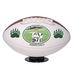 Mid Size Senior Gift Photo Football - Double Panel