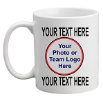 Custom Designed Photo/Logo MUG