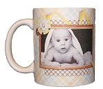 New Born Baby Photo Mug