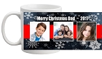 CHRISTMAS PHOTO MUG - FULL WRAP