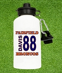 Personalized Name & Number Water Bottle