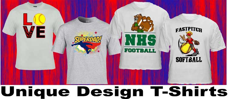 Custom Designed T-Shirts