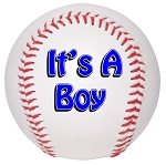 IT'S A BOY BASEBALL - FRONT