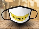 BANANA SMILE IMPRINT FACE MASK