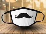 MUSTACHE IMPRINT FACE MASK