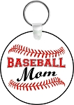 Baseball Mom or Dad Key Chain