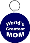 World's Greatest Mom Key Chain