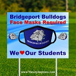 Face Masks Required Lawn Sign - FACE MASK DESIGN