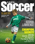 Sports Magazine Cover - Inside Soccer