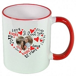 Personalized Words of Love PHOTO MUG