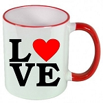 LOVE Letters Valentines Day MUG