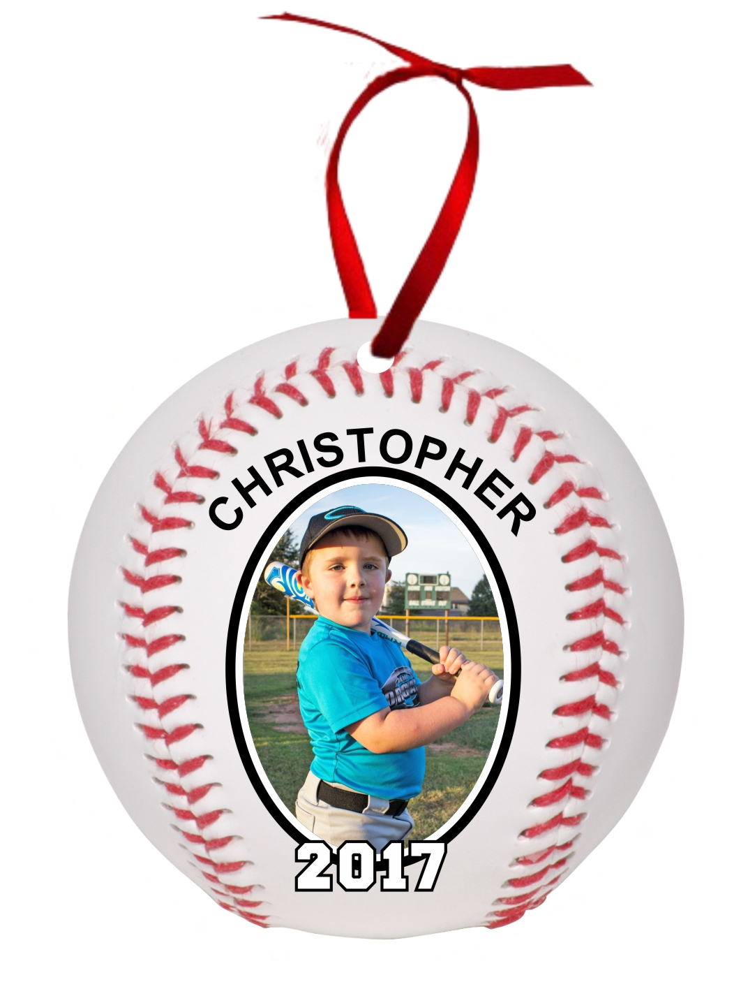 add to gift registry - Baseball Christmas Ornaments
