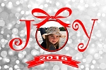 ChromaLuxe JOY Christmas Photo Panel