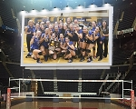 Volleyball Arena Billboard Prints