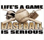 Life's A Game / Baseball T-Shirt
