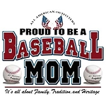 Proud To Be A Baseball Mom OVERSTOCK T-Shirt
