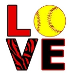 LOVE Softball OVERSTOCK T-Shirt