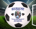 Full Size Senior Player Recognition Photo Soccer Ball