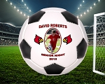 Full Size Player Recognition Photo Soccer Ball