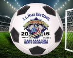 Junior Size State Championship Soccer Ball