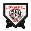 State Championship Mini Home Plate (Stand optional)