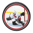Player Action Photo Hockey Puck