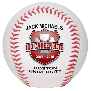 Career Hits Special Recognition Baseball