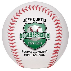 Career Strikeouts Special Recognition Baseball