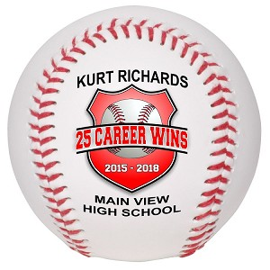 Career Wins Special Recognition Baseball