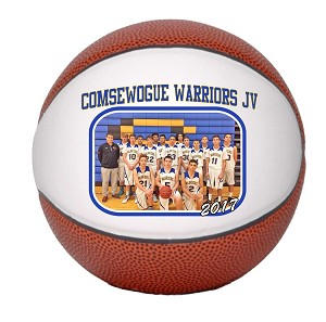 Junior Size Senior Gift Basketball