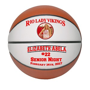 Full Size Senior Gift Basketball