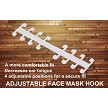 ADJUSTABLE FACE MASK HOOK (OPTIONAL - $2.00)