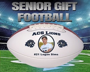 Mid Size Senior Recognition Football - Top Panel