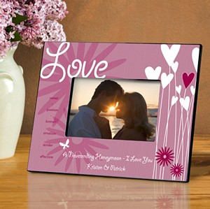 Personalized Heartthrob Photo Frame