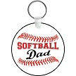 SOFTBALL DAD KEY CHAIN