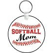 SOFTBALL MOM KEYCHAIN